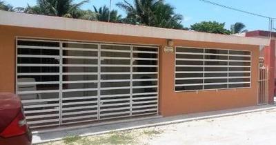 Bonita Casa En Telchac Puerto De 3 Habitaciones