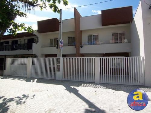 Imagem 1 de 16 de Sobrado Novo Para Locação De Temporada Em Guaratuba/pr - Imobiliária África - So00102 - 32001821