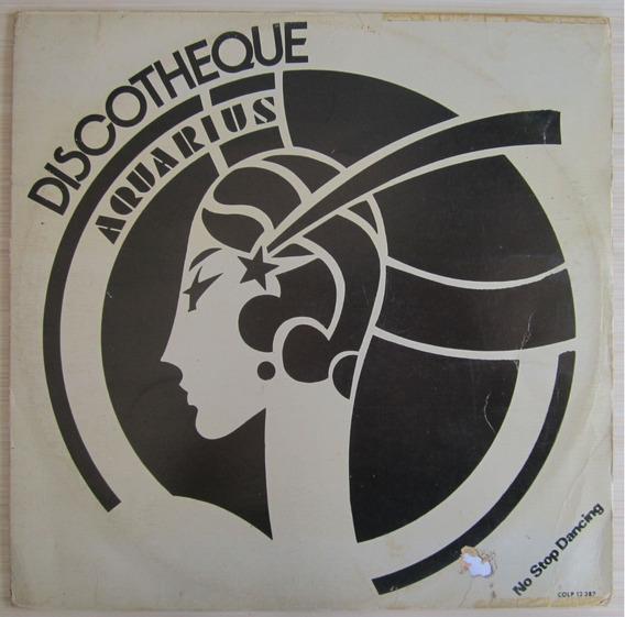 Lp Discotheque Aquarius No Stop Dancing Com Encarte