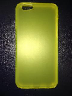 Forro Para iPhone 6/6s, Colores Varios Nuevo! Oferta (3$)