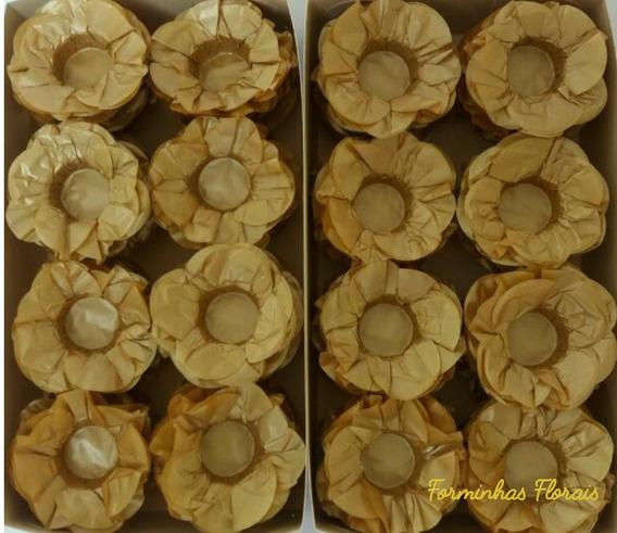 600 Forminhas Formas Doces Docinhos Finos Casamento Flor