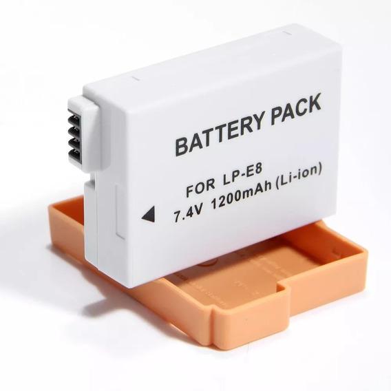 Bateria P/ Canon Rebel T2i T3i T4i T5i Modelo Lpe8 Lp-e8