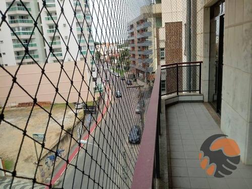 Apartamento Com 3 Quartos Para Alugar Anual, 170 M² - Centro - Guarapari/es - Ap1625