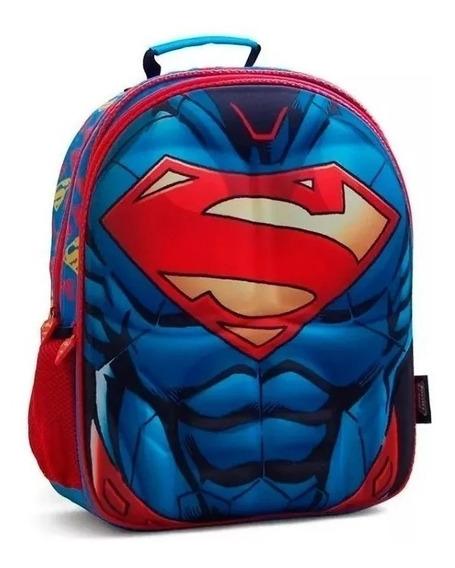 Mochila Liga De La Justicia 16 PLG Superman O Flash O Batman
