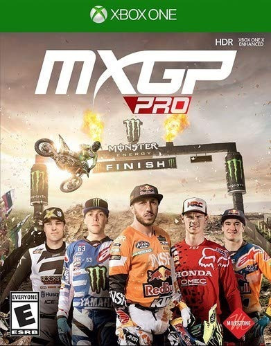 Mídia Física Mxgp Pro Xbox One - Lacrado Frete Grátis