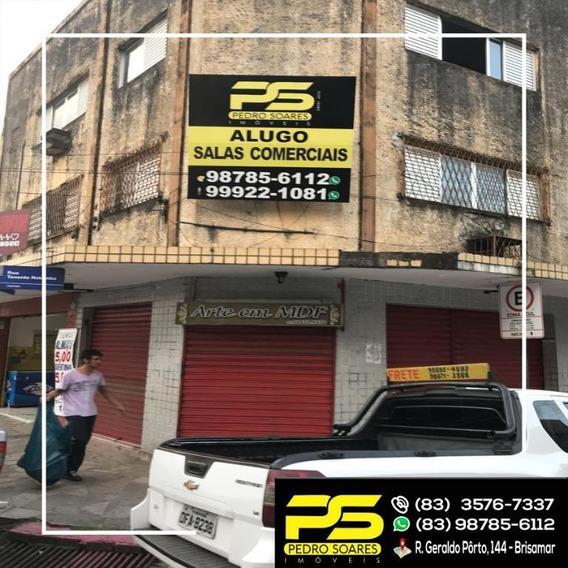 ( Para Alugar ) - Salas P/ Própio Negócio No Centro - Sa0027