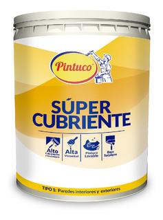 Pintura Super Cubriente Blanco 1gl Pintuco