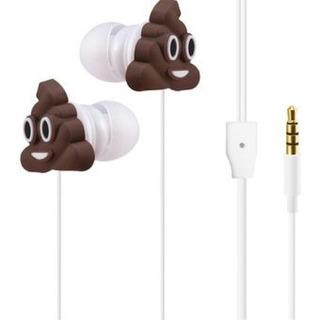 Auriculares Emoticon Caca