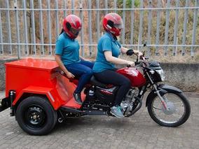 Triciclo Katuny Carroceria Baixa - Motofrete
