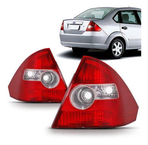 Imagem 1 de 4 de Lanterna Fiesta Sedan 2004 2005 2006 2007 2008 2009 10