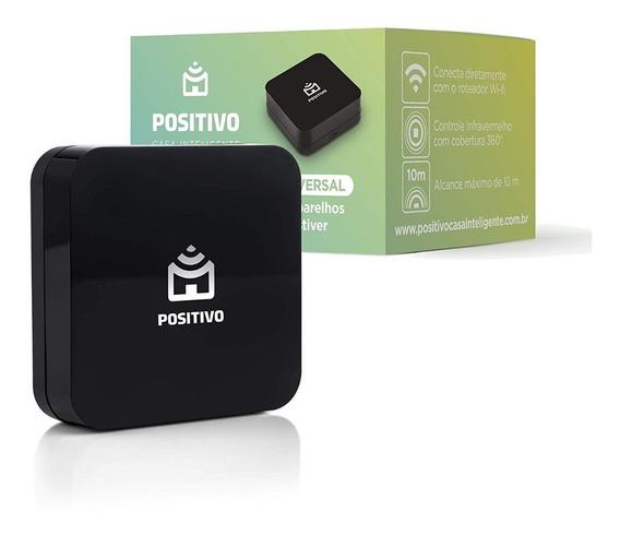 Smart Controle Universal Positivo Comp. C/ Alexa Wifi Preto