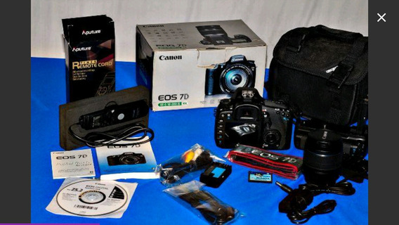 Camera Canon 7d Menos 4000 Clics