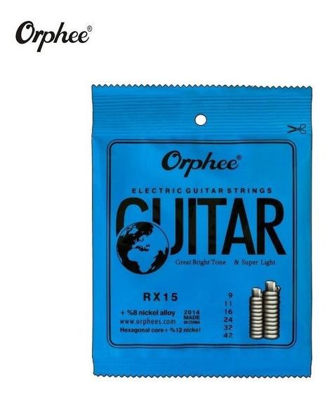 Encordoamento Para Guitarra 0.9 Orphee - (nig,sg,solez)