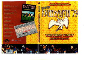Dvd Led Zeppelin-knebworth 1979-the First Night-duplo