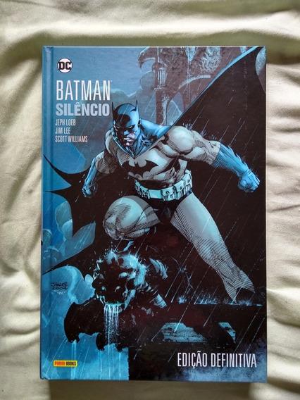 Hq - Batman Silêncio (frete Grátis Via Registro Módico)
