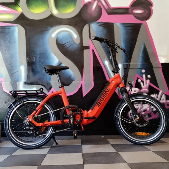 Bicicleta Plegable Aigeni Eléctrica / Bateria 10 Ah
