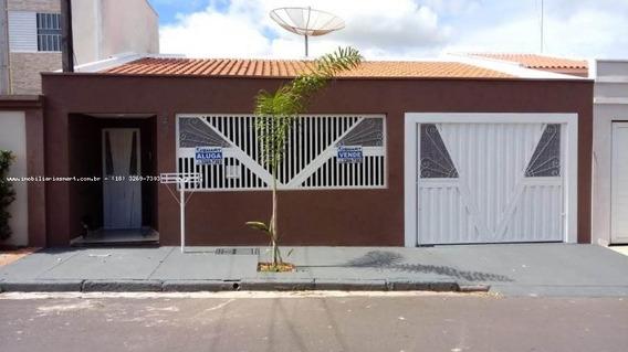 Casa Para Venda Em Pirapozinho, Centro, 3 Dormitórios, 1 Suíte, 2 Banheiros, 3 Vagas - 4111