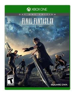 Final Fantasy Xv Dia Uno Xbox One Nuevo Sellado Envíos