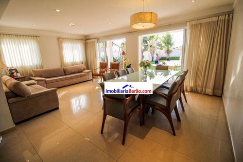 Casa Com 4 Dormitórios À Venda, 295 M² Por R$ 2.300.000,00 - Residencial Estância Eudóxia - Campinas/sp - Ca1509