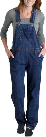 Dickies Fb206 Overol Mezclilla Pantalón Peto Mujer