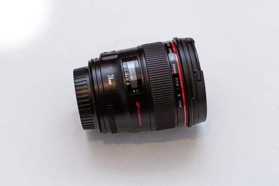Lente Canon 24mm 1.4 Ii (original) - Ótimo Estado.