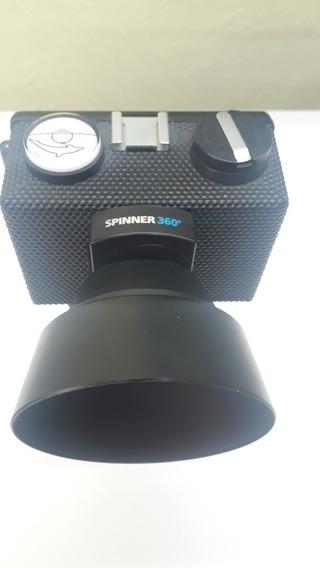 Camera Lomo Rotacional Panorâmica Spinner 360°