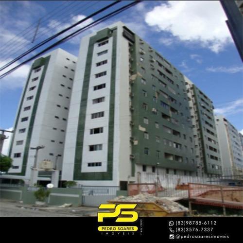 Apartamento Com 2 Dormitórios À Venda, 88 M² Por R$ 300.000 - Brisamar - João Pessoa/pb - Ap3635