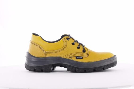 Zapato De Seguridad Con Puntera Acero Worker Unit 20345