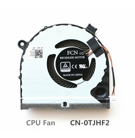Cooler Do Cpu Dell G3-3579 G3-3779 G5 5587 0tjhf2