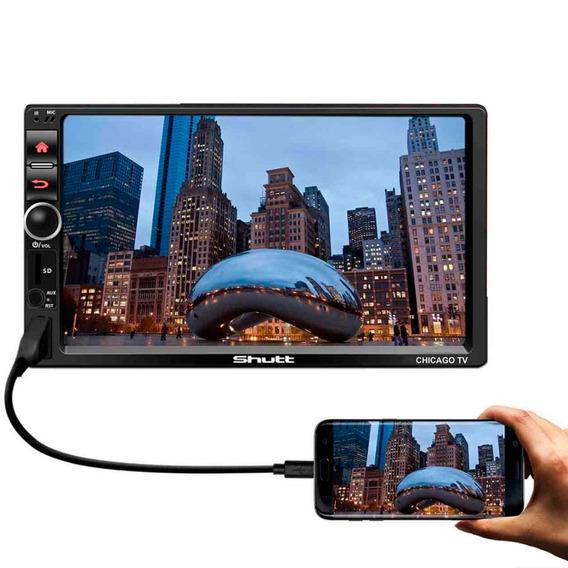 Mp3 Mp4 Mp5 Player Shutt Chicago Tv 7 Pol 2 Din Espelhamento