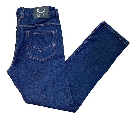 Pantalón Clasico De Jean Hombre Dco+
