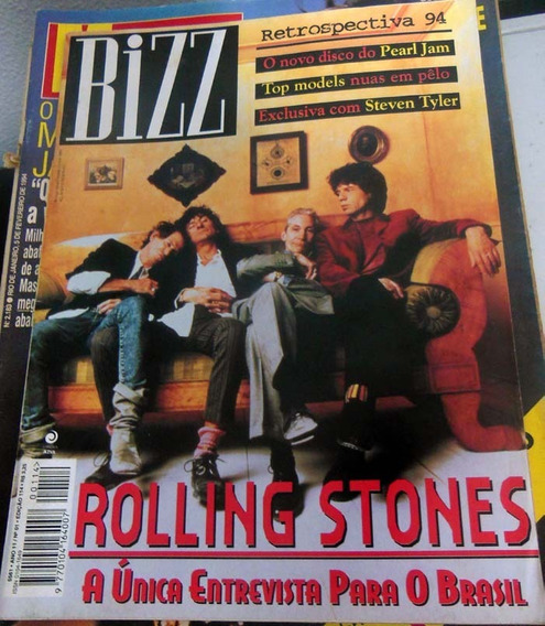 Revista Bizz 114 Jan 1995 - Rolling Stones Retrospectiva 94