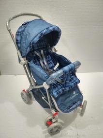 Carrinho Para Bebê Passeio Vira Berço Menino Menina
