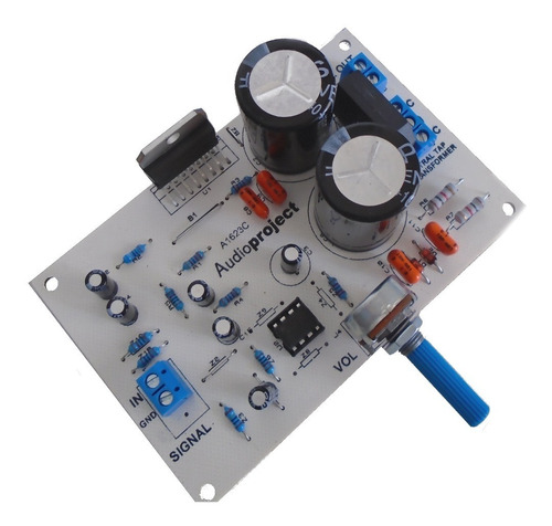 Modulo Amplificador Micrófono - 100 Watts - Audioproject