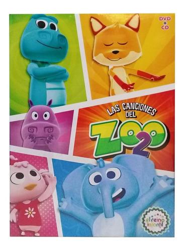 Imagen 1 de 2 de Las Canciones Del Zoo Vol 2 Dvd+ Cd