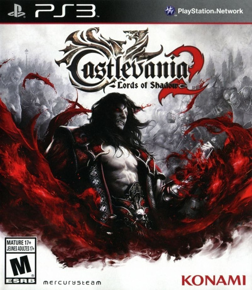 Jogo Castlevania 2 Lords Of Shadow Ps3 Mídia Física Original