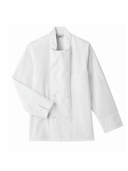 Five Star Chef Apparel 8 Button Jacket (white, Large)