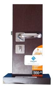 Fechadura Stam Inox 803/09 Para Portas