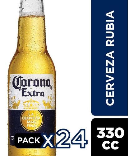 Cerveza Corona Botellín 24 Unidades 330cc
