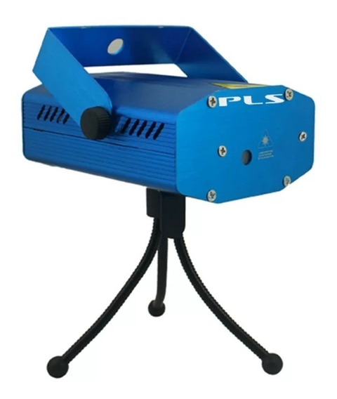 Mini Laser Projetor Pls Com Efeitos Bivolt Tripé Grátis