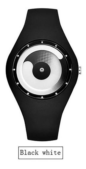 Reloj Hombres Concept Minimalista Flujo Color Blanco Unisex
