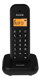 Teléfono Inalámbrico Alcatel E155 La Color Negro