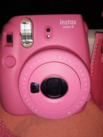 Câmera Mini Instax Mini 9 Com Case