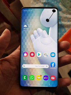 Samsung Galaxy S10 128gb Original Detalhe Leia Descrição