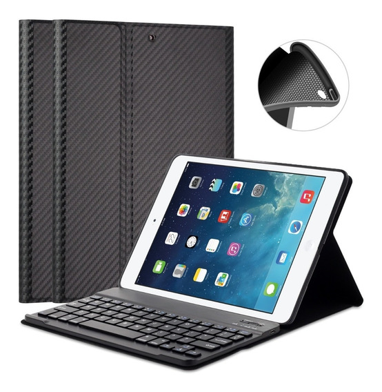 Capa Teclado Bluetooth iPad 5 Air 9.7 A1474 A1475 A1476