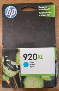 Cartucho Impresora Hp 920xl Cyan