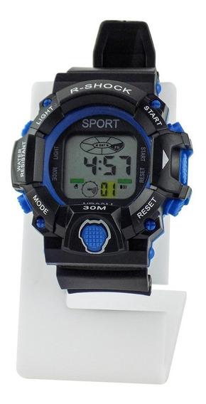 Relógio Masculino Digital Original Esporte Ross116