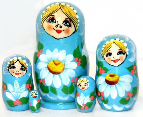 Muñeca Rusa Original (matrioshka Mamushka)