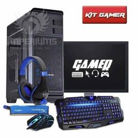 Pc Gamer Completo I3 / 8gb / Gtx 1050 / 500gb / Wifi