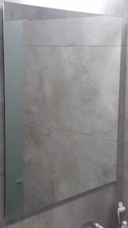 Espejo Sin Marco 60x80 Ideal Baños Listo Para Colgar Calidad